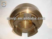 cnc machine processing brass cnc lathe milling and drilling machining service