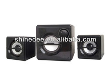 2.1 plastic computer/DVD/VCD/TV speakers subwoofer (SP-3100)