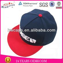 Wholesal cheap American basketball snapback caps oem snap back hat