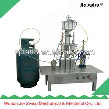 CJXH-800 manual aerosol filling machine,toilet bowl cleaner air freshener filling machine