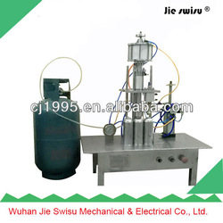 CJXH-800 Triad aerosol filling machine,toilet spray air freshener filling machine