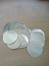 Heat sealing film aluminum foil for plastic jar heat seal