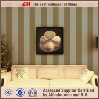 Nonwoven simple stripe wall paper sofa background wallpaper sale
