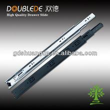 hot sale 40mm 3-fold drawer slide/ball bearing drawer slides soft close