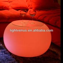 PE LED coffee table