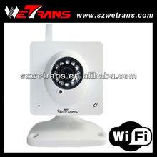 WETRANS TI8910W MJPEG Day & Night WiFi IP Hidden Camera
