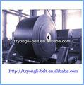 transportador de correa de cinturón que se utiliza en el cemento de la industria de acero