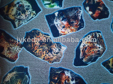 pvc leopard grain leather, artificial pvc embossed leather for bag, upholstery,