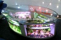 Bisini Oval Fish Tank / Aquarium Table (BF09-41033)
