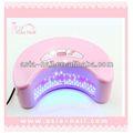 12w secador de uñas uv led de la lámpara 3d de uñas de arte de la decoración