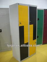 2 door clothes steel cabinet closet designs bedroom metal locker/wardrobe