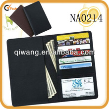 europe genuine leather wallet manufacturer brand with id window
