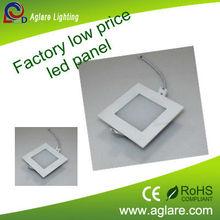 Washroom and bedroom used led panel bulb embedded panel led