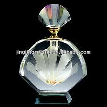 2012 New Design Cheap Empty Crystal Designer Perfume Bottles Body Glass Perfume Bottles