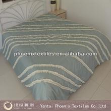 86*86 microfiber frilled plain bedspreads