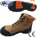 de seguridad nmsafety profesional y el trabajo de los hombres zapatos de cuero