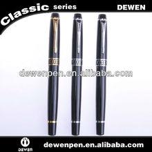 Promotional black felt tip pens