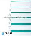 de alta calidad comercial de la construcción el vidrio flotado claro y exportador en china
