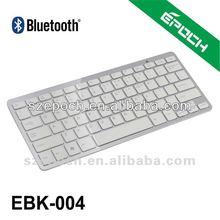 Li-Battery 78keys 10inch slim mini wireless Bluetooth 3.0 keyboard for Mini IPAD 4 smartphone