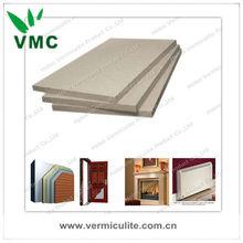 Vermiculite Fireproof boards for fire door core