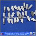 De aluminio torneado insertos/herramienta para trabajar metal de/k30 de carburo cementado punta