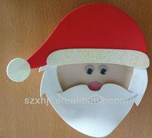 foam craft kit christmas father wall sticker