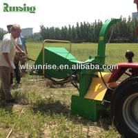 Tractor PTO stump grinder wood making machine
