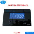Controlador de temperatura digital fc-210c controlador eletrônico de temperatura com timer