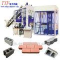 Qty6-15 vibratório mesa de concreto paver bloco que faz a máquina