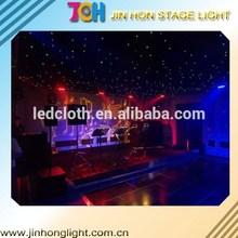 china dedicative led star curtain for night club