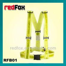 high visibility safety reflective waist brace