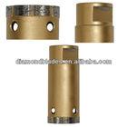 Diamond core drill diamond segment for wet application