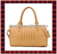 2013 Fashion New Handbags for Womens, High Quality Riveting Designers PU Leather Hobo Bag, Girls Shoulder Bag (BSLA068)