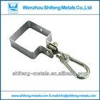 square collar hook; collar hook;Swing set hardware