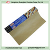 40gsm Roll type unbleached Parchment Brown Baking Paper