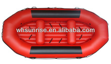 Rigid PVC inflatable raft