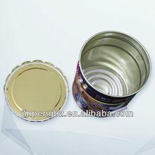 Metal handle tinplate round print metal pail