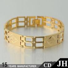 fabbrica promozione cina 14k bracciali in oro ingrosso