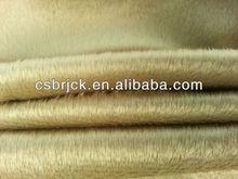 100% polyester short microfiber fleece cushion cover fabric