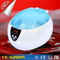 0.75l digital de alta calidad mini ultrasonidos& joyería reloj limpiador ultrasónico limpiador de disco para el hogar
