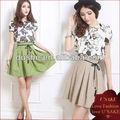 dama nuevo diseño coreano nuevos vestidos de moda 2014