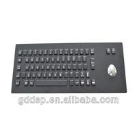 VandalProof Metal Keyboard With Numeric Keys