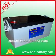 12V Solar Power Batteries 12V250AH for off grid power system