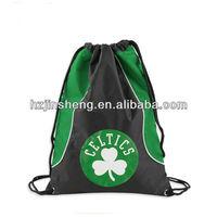 cheap printed promotion polyester drawstring bag