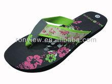 2015 New arrival women's beach EVA slipper