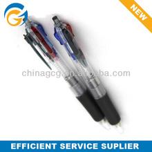 4 In 1 Multicolor Plastic Ball Pen