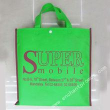 Custom nonwoven cloth bag with silk screen logo