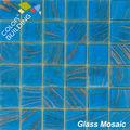 gold texture stylish glass mosaic