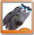 alta qualidade não transformados cabelo virgem brasileira reta
