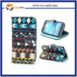 Geometric Tribe wallet mobile phone case for samsung galaxy s4 i9500